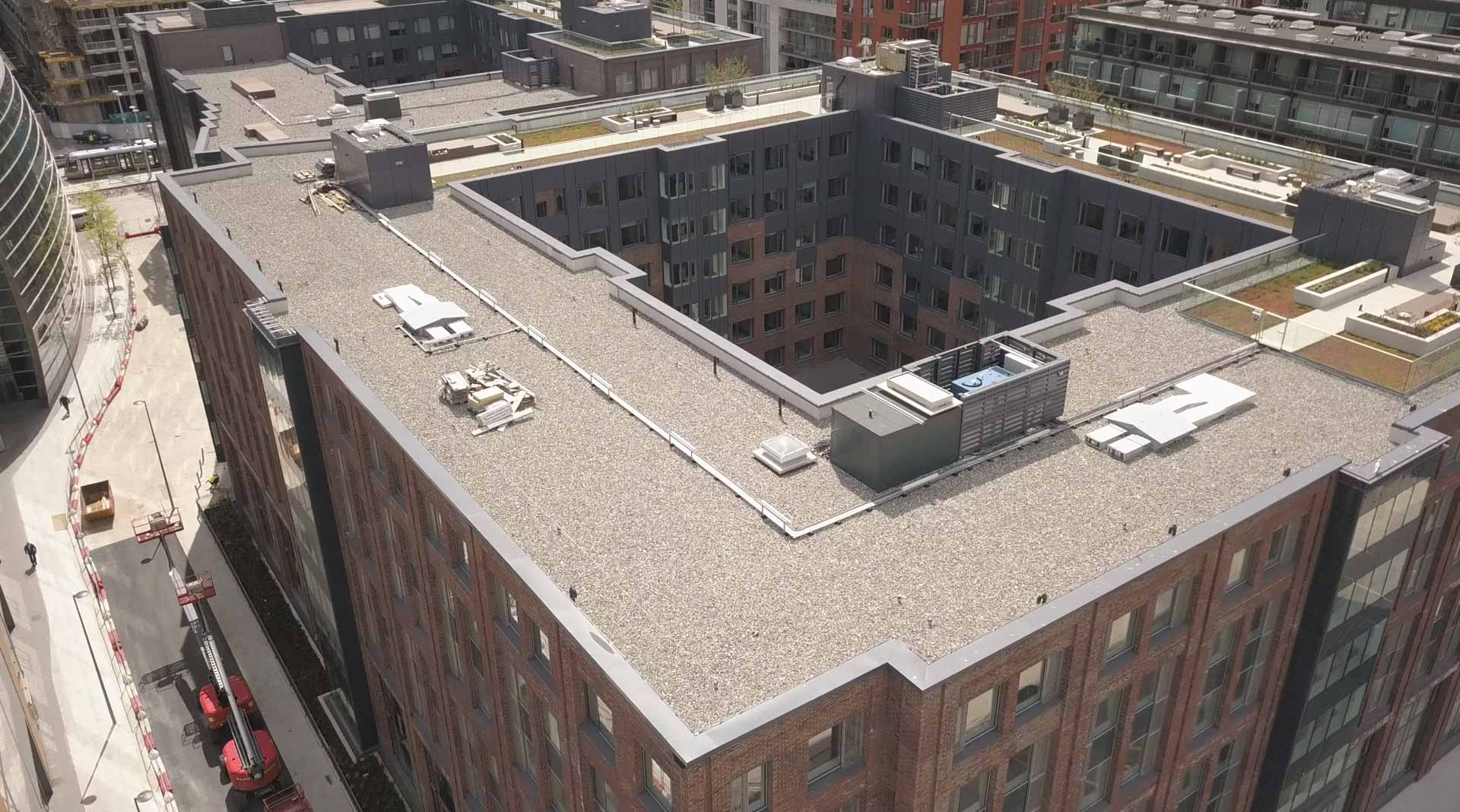 Point Student Accommodation Crown Roofing Amp Cladding
