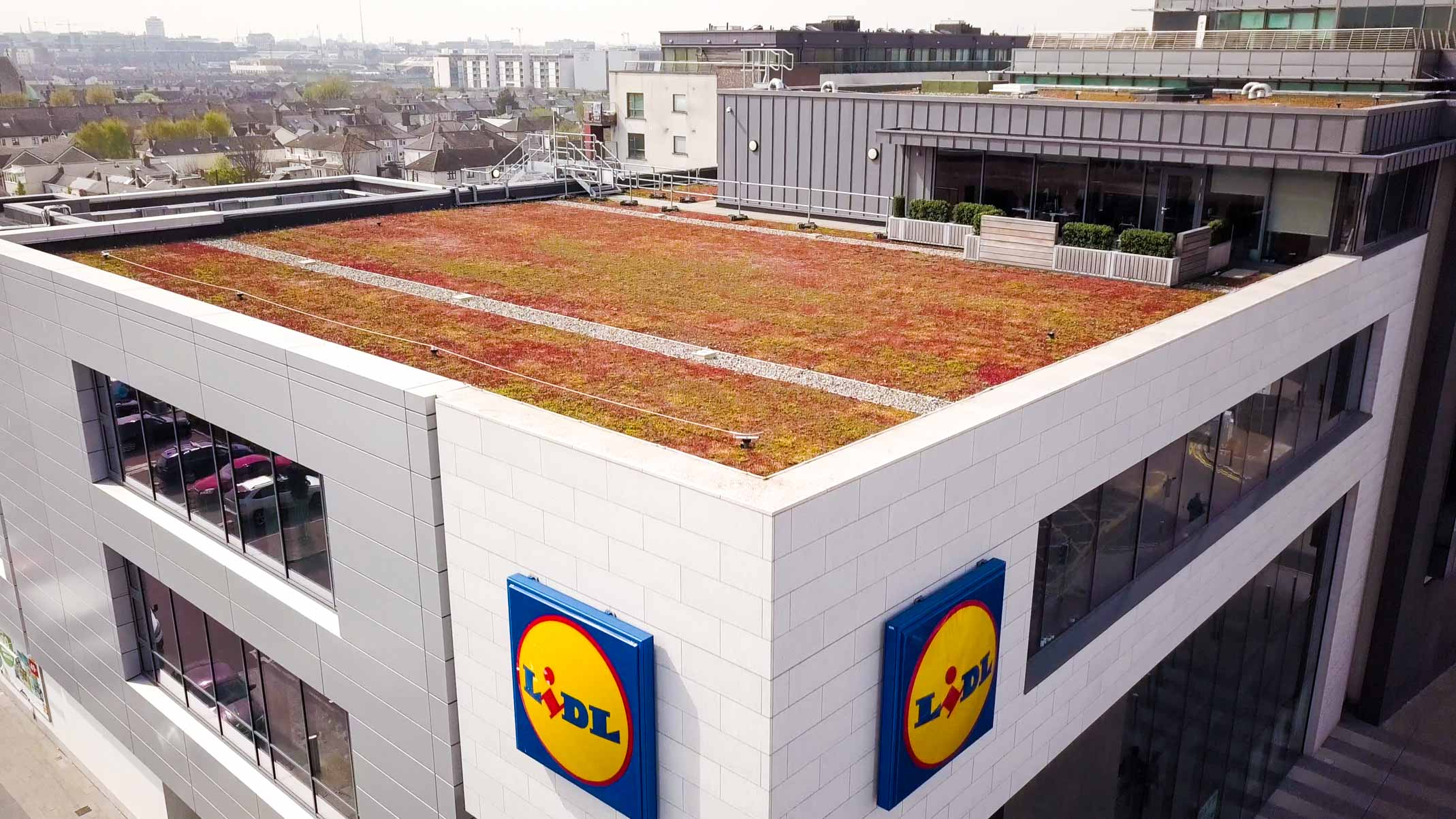 Lidl East Wall Crown Roofing Amp Cladding